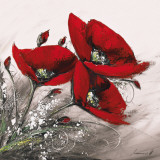 Bouquet de Coquelicots I Art by Olivier Tramoni