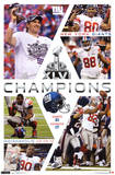 2012 Super Bowl - Celebration Posters