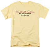 Men Like Popcorn T-Shirt