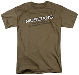 Musicians Do It to the Conductors Instructions T-shirts