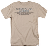 Murphy's Law Addition Shirts