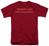 Sturgeon's Law T-shirts