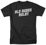 Old Dudes Rule! T-shirts