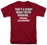 Scary Mask T-Shirt