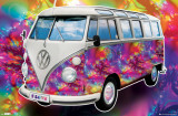 VW California Camper - Love Posters