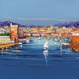 Vieux Port de Marseille Affiches par  Corbiere