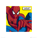 Spiderman Great Power Kunstdrucke