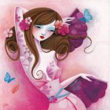 La Danse des Papillons Poster by  Sybile