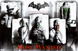 Arkham City - Most Wanted Prints