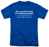 Willing People T-shirts
