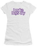 Juniors: Make Boys Cry T-shirts
