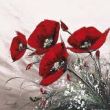 Bouquet de Coquelicots II Posters by Olivier Tramoni