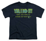Youth: Yes I Did It Shirts