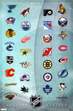 NHL - Logos 2011 Posters
