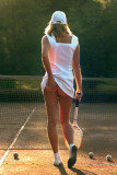 Tennis Girl Poster