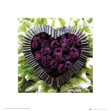 Madalenes Hearts Purple Plakater