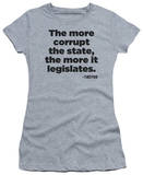 Juniors: More It Legislates T-Shirt