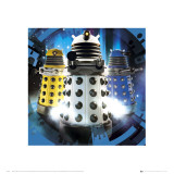 Doctor Who Daleks Kunst