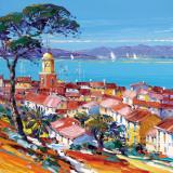 St.Tropez II Art by  Corbiere