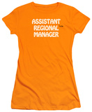 Juniors: Regional Manager T-shirts