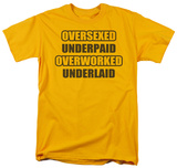 Oversexed T-shirts