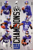 2012 Super Bowl - Champs Poster