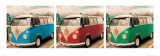 VW Camper Route One Poster