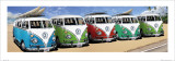 VW Camper Campers Beach Posters