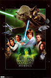 Star Wars  Heroes Print