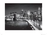 Manhattan Night Plakát