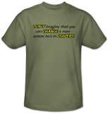 Change a Man T-shirts