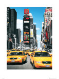 New York Taxis Stampe