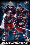 Blue Jackets - Collage 2011 Poster