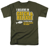 Catch and Release Shirts