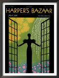 Harper's Bazaar, April 1933 Framed Giclee Print