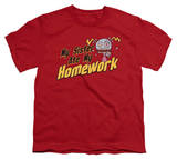 Youth: Sister Ate My Homework Shirt