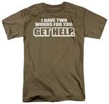 Get Help T-shirts