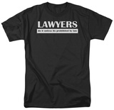 Lawyers Do It By Law T-Shirts