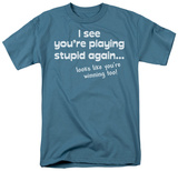 Playing Stupid Again T-shirts