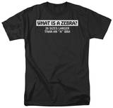 What Is A Zebra T-shirts