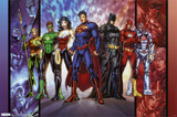 DC Comics Justice League, the new 52 Poster Print Photo