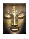 Buddah Face Posters