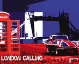 London Calling Poster by  Le Markee