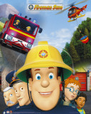 Fireman Sam- Cast Julisteet