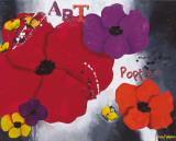 Art Poppies Plakater af Aurélie Pfaadt