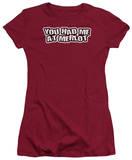 Juniors: Had Me At Merlot T-shirts