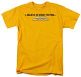 Drug Testing Shirts