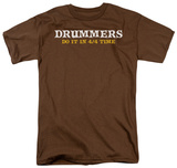 Drummers Do It T-shirts