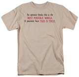 Best Possible World T-shirts