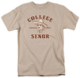 College Senor T-shirts